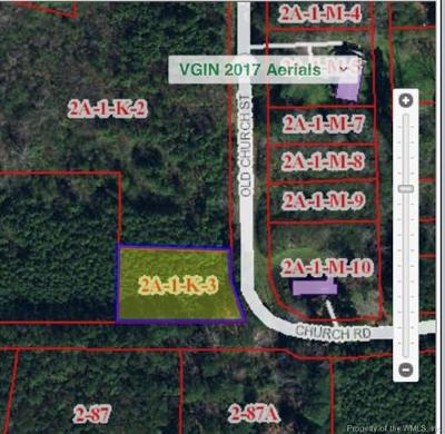 Charles City Co., Isle Of Wight County, James City Co., New Kent County, Newport News County, Suffolk County, Surry County, Williamsburg County, York County Residential Lots & Land For Sale: 0000 Church Street