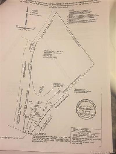 Gloucester Residential Lots & Land For Sale: Woodsman Lane