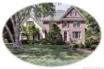 Williamsburg VA Single Family Home For Sale: $475,000