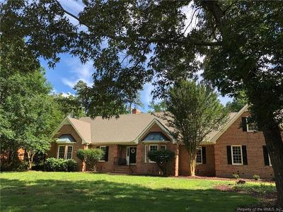 Williamsburg Single Family Home For Sale: 3145 Parkside Lane