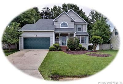 Williamsburg Single Family Home For Sale: 4004 Driftwood Way