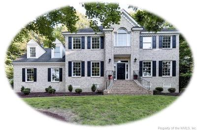 Williamsburg VA Single Family Home For Sale: $510,000