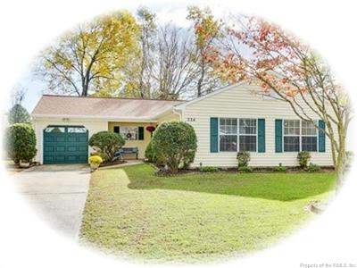 Single Family Home For Sale: 224 Anne Drive