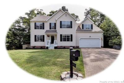 Williamsburg Single Family Home For Sale: 4513 Misty Court