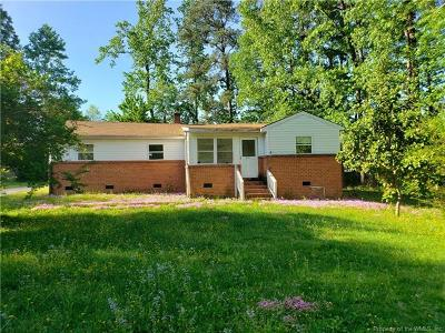 Stonehouse Single Family Home For Sale: 6161 Centerville Road