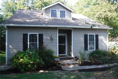 Williamsburg Single Family Home For Sale: 4550 Cedar Point Lane