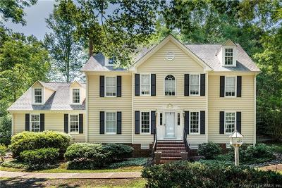 Williamsburg Single Family Home For Sale: 104 Huntercombe