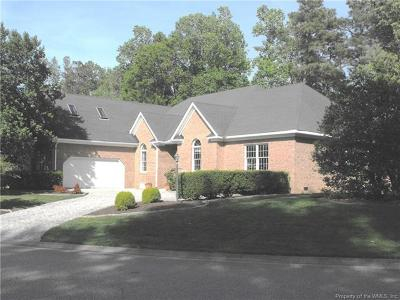 New Kent County Single Family Home For Sale: 5901 Brickshire Drive