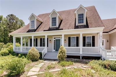 New Kent County Single Family Home For Sale: 19171 Woodmont Plantation