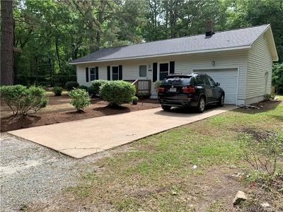 Gloucester Single Family Home For Sale: 4511 Cedar Bush Road