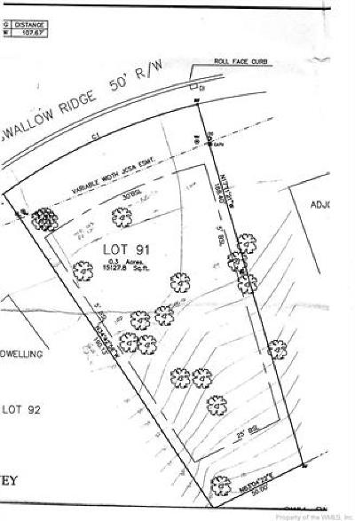 Stonehouse Residential Lots & Land For Sale: 9932 Swallow Ridge