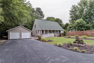 Single Family Home For Sale: 4421 Powhatan Crossing