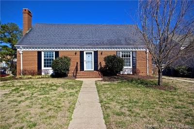 King William Single Family Home For Sale: 126 Kirby Street