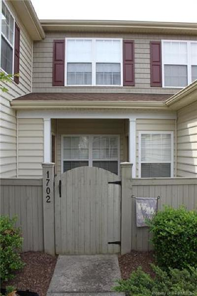 Williamsburg Condo/Townhouse For Sale: 1702 Duntrune Glen