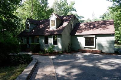 Toano Single Family Home For Sale: 104 Warrens Pond Road
