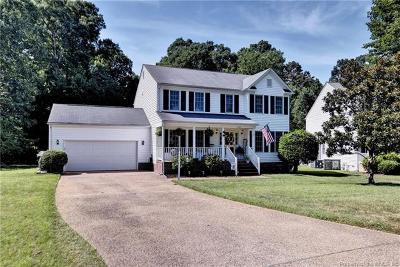 Williamsburg Single Family Home For Sale: 5409 Wm Ludwell Lee