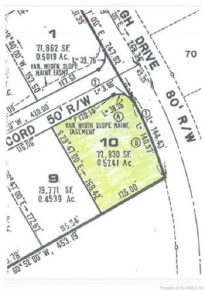 Williamsburg Residential Lots & Land For Sale: 101 Concord