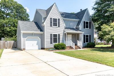 Hampton Single Family Home For Sale: 402 Terry Court