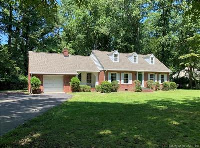 Williamsburg Single Family Home For Sale: 119 Copse Way