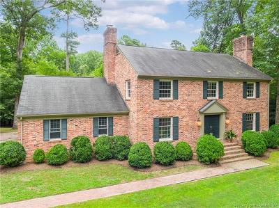 Single Family Home For Sale: 121 Rich Neck Road