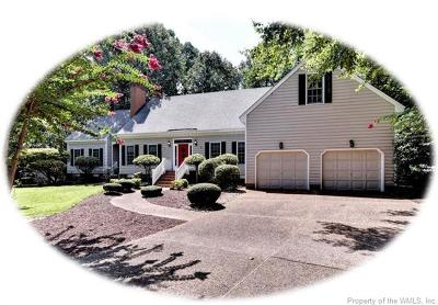 Fords Colony Single Family Home For Sale: 100 Swinley Forest