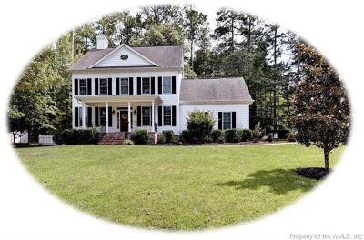 James City County, Williamsburg County, York County Single Family Home For Sale: 136 Mid Ocean