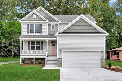 Yorktown Single Family Home For Sale: 410 A Carys Chapel Road