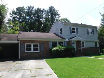 Williamsburg Single Family Home For Sale: 178 Sheppard Drive