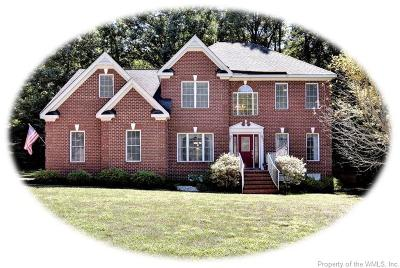 Williamsburg Single Family Home For Sale: 4909 Westmoreland Drive
