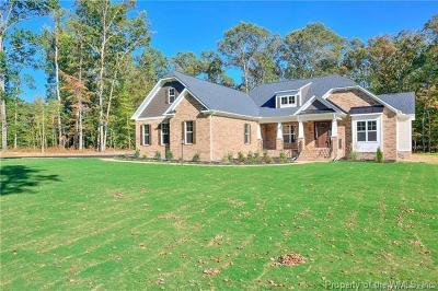 Williamsburg Single Family Home For Sale: 165 Fords Colony Drive
