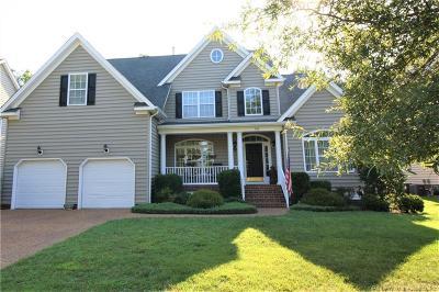 Williamsburg Single Family Home For Sale: 500 Schooner Boulevard