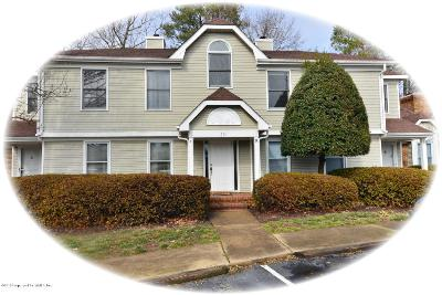 York County Condo/Townhouse Sold: 601 D Bridge Crossing