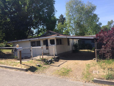 Tonasket WA Single Family Home Sold: $33,006