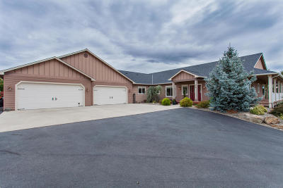 Wenatchee Single Family Home Active - Contingent: 658 Majestic View Dr
