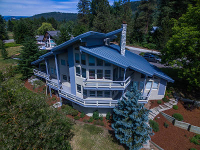 Leavenworth Single Family Home For Sale: 8040 Old Bridge Rd