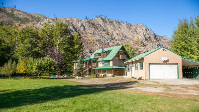 Entiat Single Family Home For Sale: 12787 Entiat River Rd