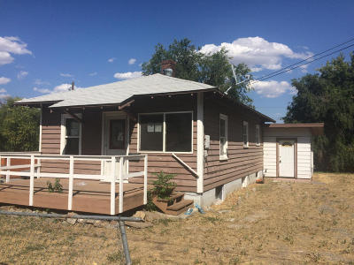 Wenatchee WA Single Family Home Sold: $96,000
