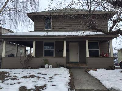 Multi Family Home For Sale: 309 Chelan Ave