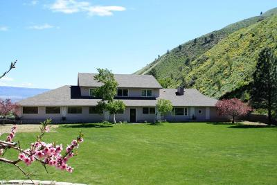 Wenatchee, Malaga Single Family Home For Sale: 3151 Number 1 Canyon Rd