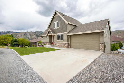 East Wenatchee, Rock Island, Orondo Single Family Home For Sale: 323 Pineview Dr