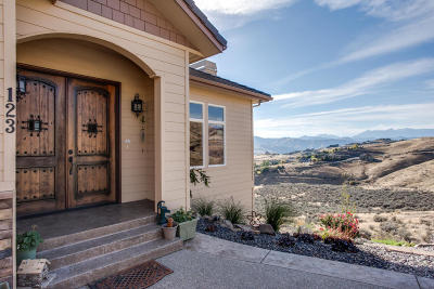 Wenatchee, Malaga Single Family Home For Sale: 123 E Mountain Brook Ln