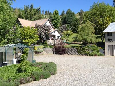 Wenatchee, Malaga Single Family Home For Sale: 5246 Squilchuck Road