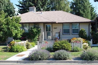 Wenatchee Single Family Home Pending: 1327 2nd St