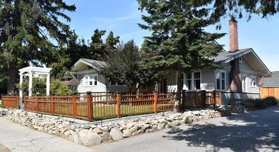 Wenatchee Single Family Home For Sale: 614 First St