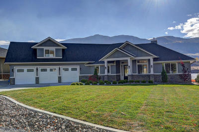 East Wenatchee, Rock Island, Orondo Single Family Home For Sale: 4960 Hurst Landing Rd