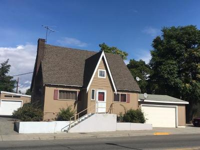 Wenatchee WA Single Family Home For Sale: $229,900