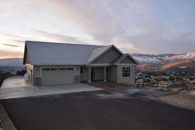Wenatchee, Malaga Single Family Home For Sale: 3852 Sky Crest Ln