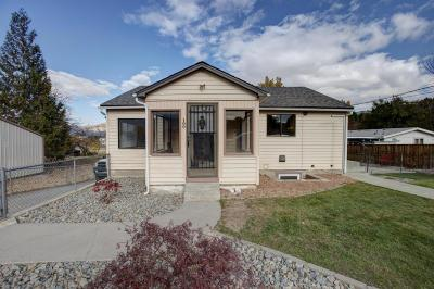 East Wenatchee Single Family Home Pending: 109 19th NW