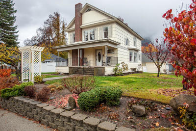Leavenworth Single Family Home For Sale: 331 Cascade St