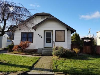Wenatchee Single Family Home For Sale: 826 S Monroe St